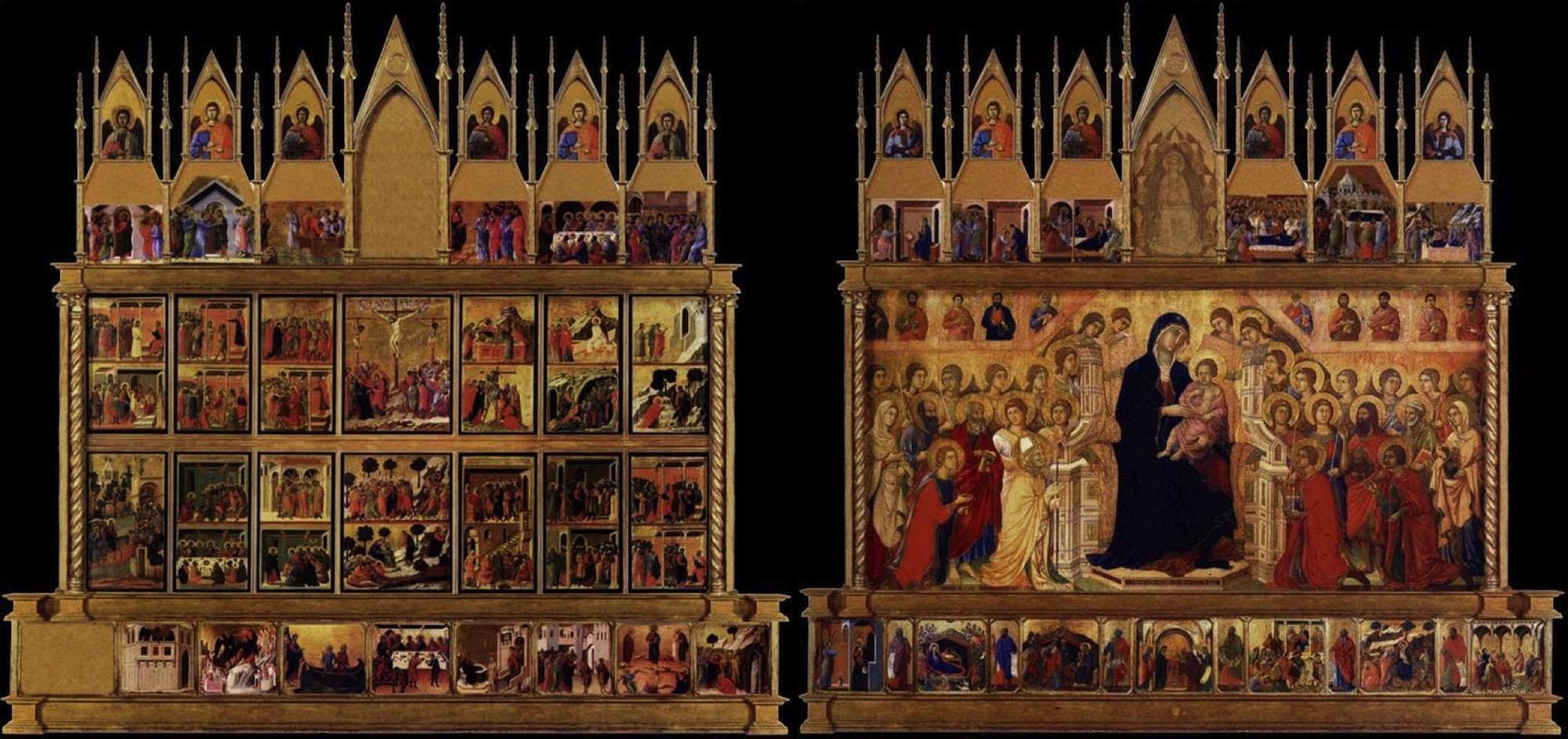 Toscana Italy Siena Maesta Duccio di Buoninsegna