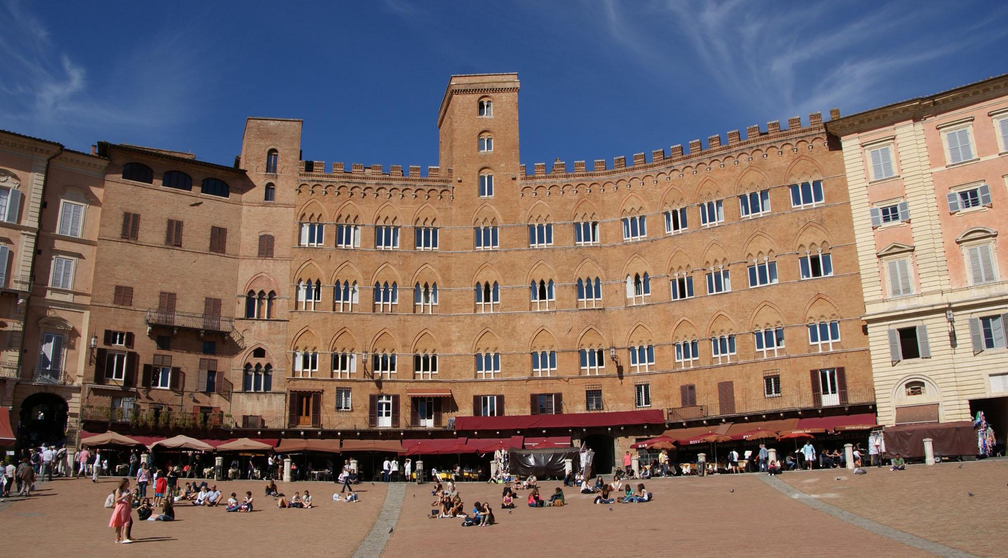 Toscana Italy Siena Palazzo Sansedoni