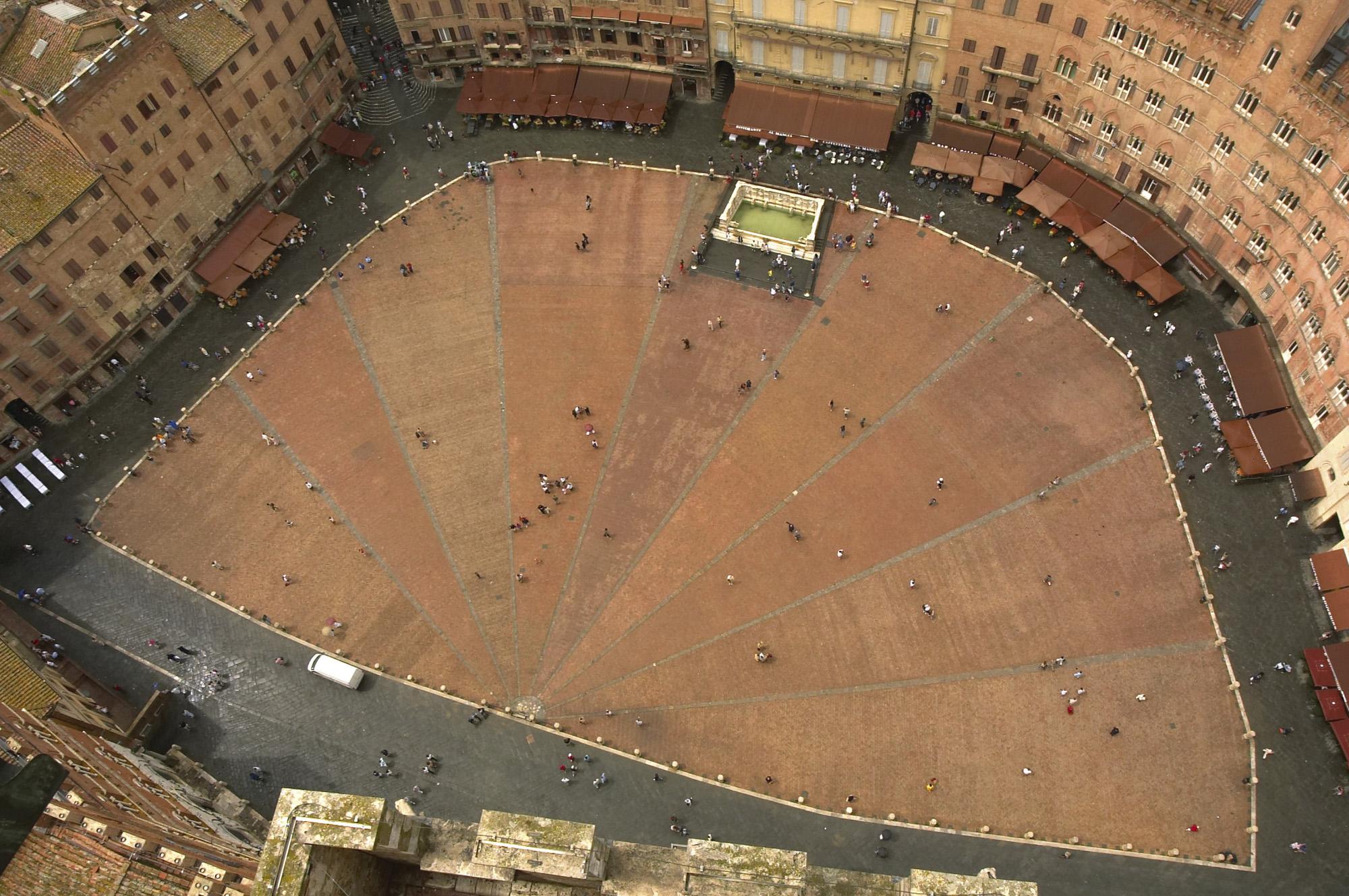 Toscana Italy Siena Piazza del Campo