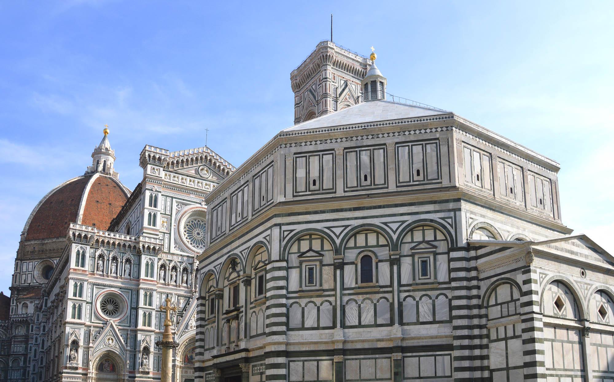 Toscana Italy Firenze Battistero San Giovanni