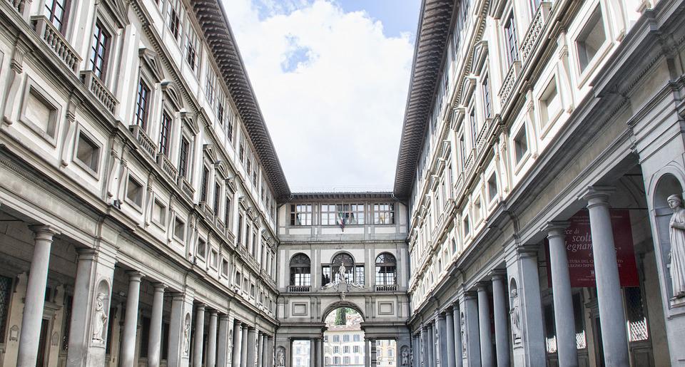 Toscana Italy Firenze Uffizi