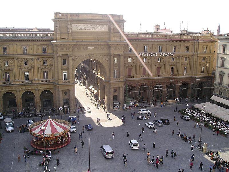 Toscana Italy Firenze Piazza della Repubblica
