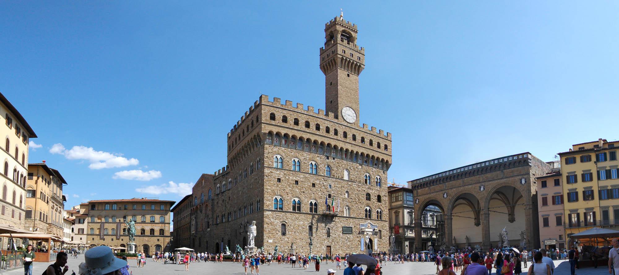 Toscana Italy Firenze Palazzo vecchio