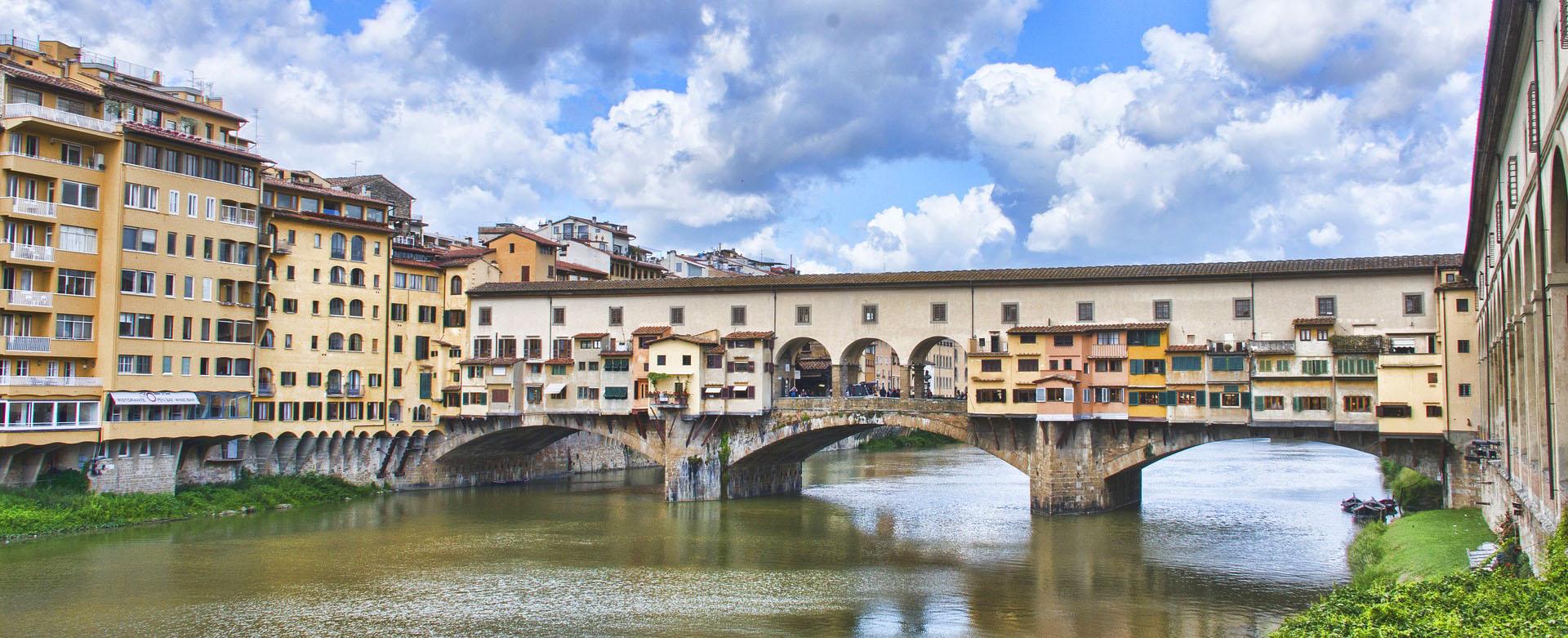 Toscana Italy Firenze Ponte Vecchio