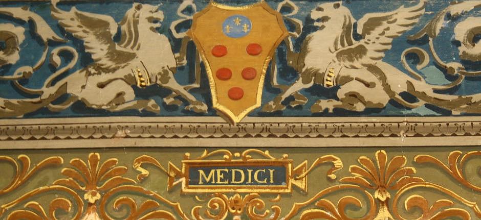 Toscana Italy Firenze Stemma Medici