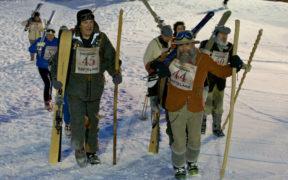 Toscana Italy Gara Vintage Slalom Abetone